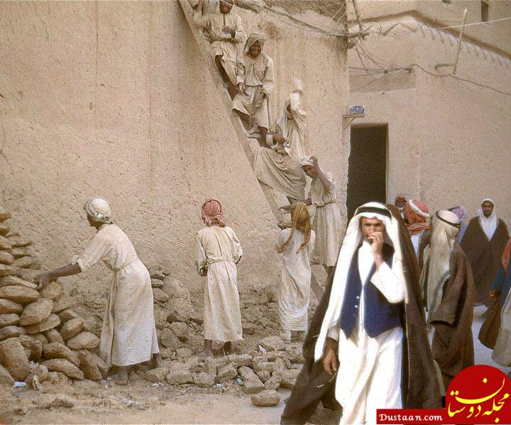 www.dustaan.com اوضاع پایتخت عربستان در حدود 68 سال پیش! +تصاویر