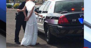 دستگیری عروس ماجراجو در روز ازدواجش! +عکس