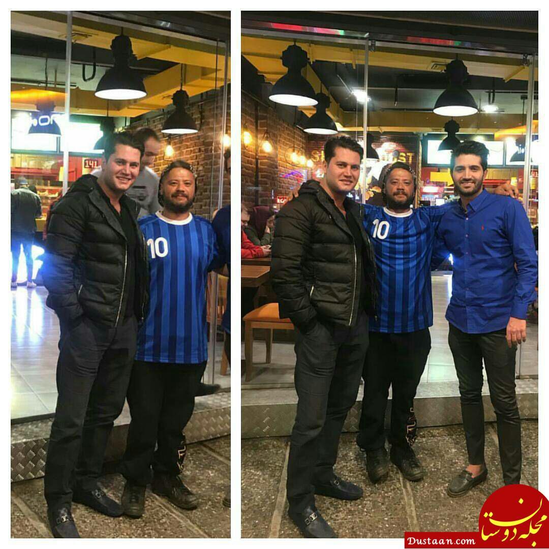 www.dustaan.com علی صادقی و علی شاکردوست برادر الناز! +عکس