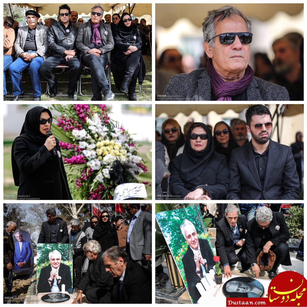بازیگران حاضر در سالگرد درگذشت علی معلم +تصاویر