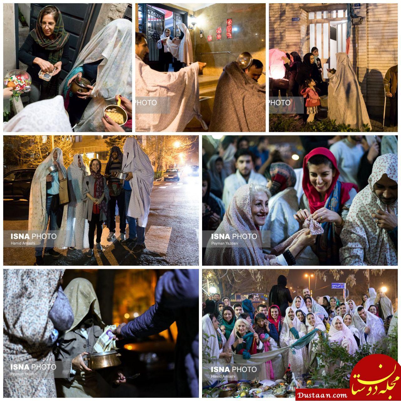 www.dustaan.com قاشق زنی رسمی دیرینه   محله یوسف آباد تهران +تصاویر