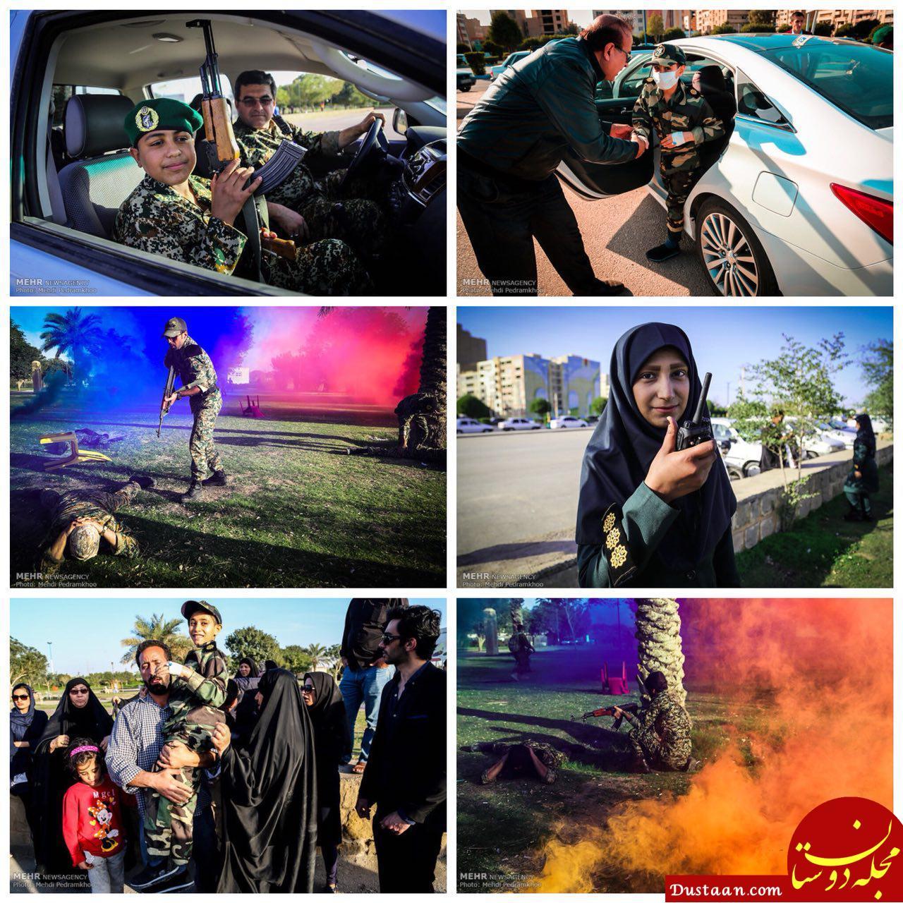 نابودی داعش توسط پنج کودک و نوجوان مبتلا به سرطان در اهواز +تصاویر