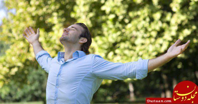 www.dustaan.com اگر ورزش نمی کنید روزی ۲۰ نفس عمیق بکشید!