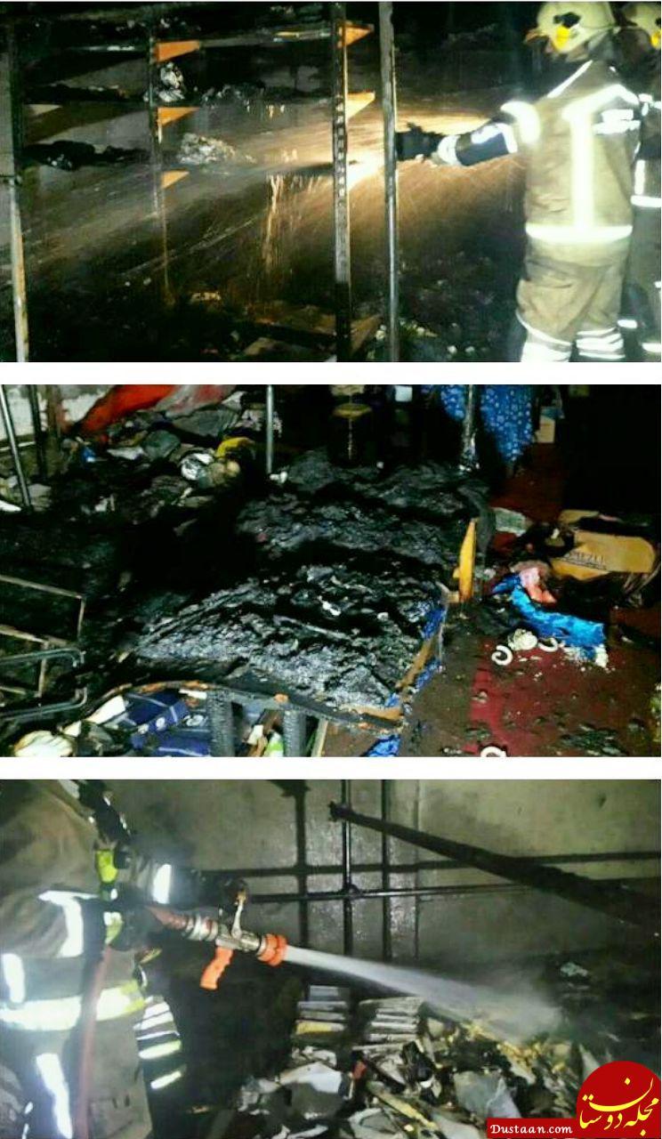 www.dustaan.com نمایشگاه بهاره آتش گرفت +تصاویر