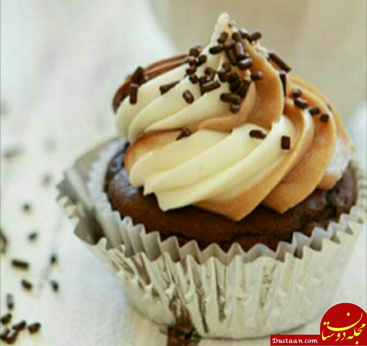 www.dustaan.com طرز تهیه کاپ کیک به سبکی خوشمزه و متفاوت