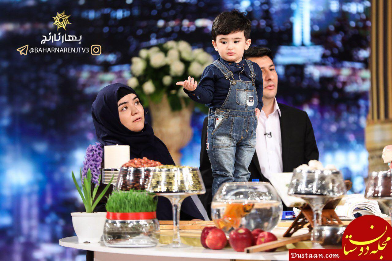 www.dustaan.com سورنا رحیم پور ؛ کودک 22 ماهه اردبیلی که توانایی خواندن کلمات را دارد +فیلم