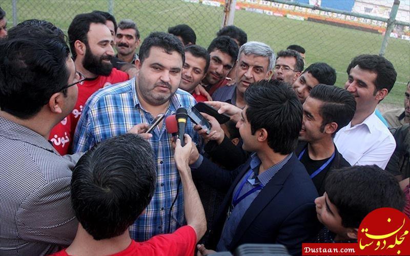 www.dustaan.com حسن زاده: شک نکنید استقلال را شکست می دهیم و سهمیه آسیا را می گیریم