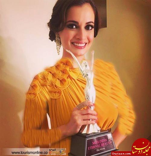 www.dustaan.com همبازی محمدرضا گلزار برنده کاپ «زیبایی جاودانه» هند شد! +عکس