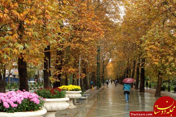 www.dustaan.com باران بهاری در ۲۰ استان کشور/ وزش باد شدید در تهران