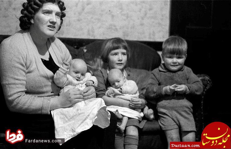 www.dustaan.com فرزندآوری آمریکایی ها پس از پایان جنگ جهانی دوم +تصاویر