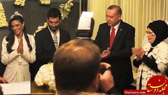 حضور اردوغان در مراسم عروسی فوتبالیست مشهور! +تصاویر