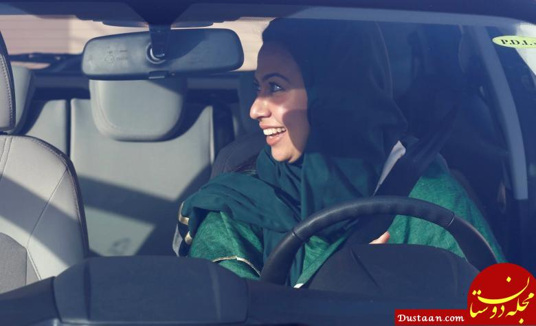 www.dustaan.com آموزش رانندگی ویژه زنان در عربستان سعودی! +تصاویر