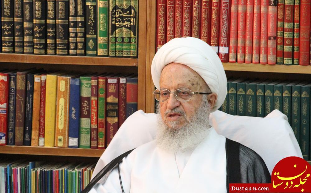 www.dustaan.com آیت الله مکارم شیرازی : نباید نوکر فضای تلگرام باشیم