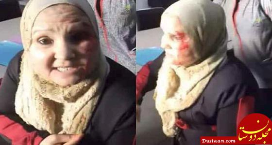 www.dustaan.com معلم عصبانی هم دانش آموز را زد، هم مادر دانش آموز را! +عکس