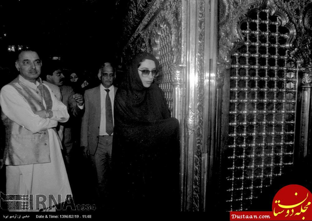 www.dustaan.com پوشش متفاوت بی نظیر بوتو در ایران +عکس