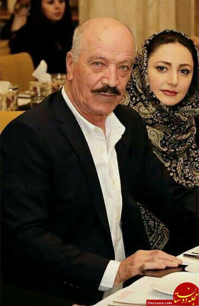 سعید راد در کنار همسر دومش!