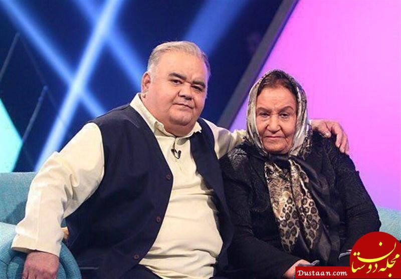 www.dustaan.com آرزوی جالب اکبر عبدی برای محسن چاوشی در سال جدید!