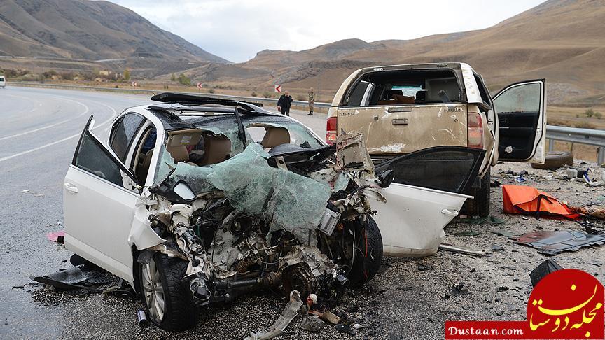 www.dustaan.com آسیب ۱۸۹۱ مسافر طی ۶ روز گذشته در تصادفات