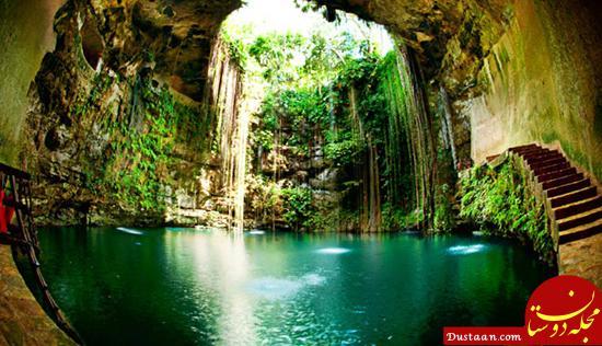 www.dustaan.com تصاویری ببینید از زیباترین استخرهای طبیعی جهان!