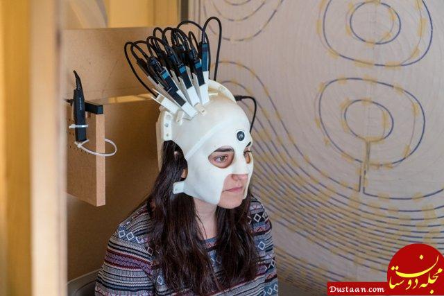 www.dustaan.com تصویربرداری از مغز به وسیله یک کلاه حساس! +عکس