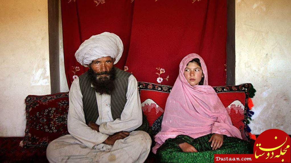 www.dustaan.com جنجال ازدواج مرد 42 ساله با دختربچه 6 ساله! +عکس
