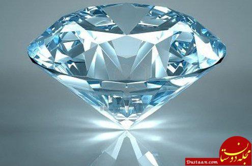 www.dustaan.com ابداع روشی برای خم کردن الماس
