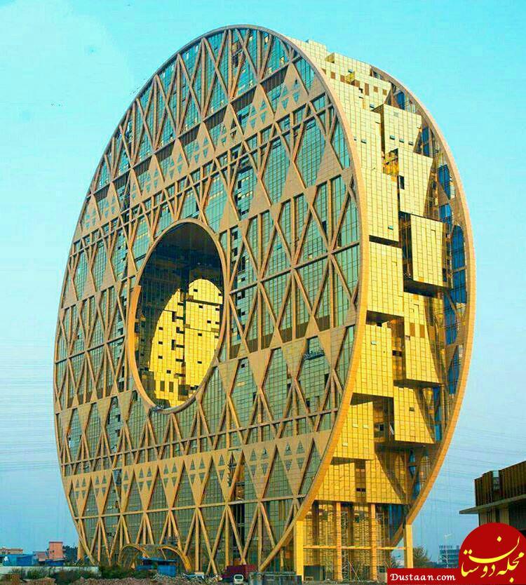 www.dustaan.com یکی از عجیب ترین بناهای جهان! +عکس