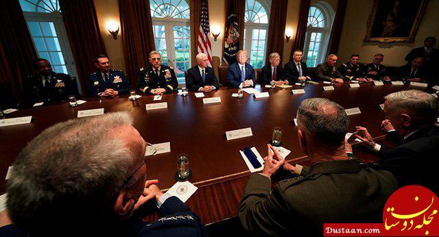 www.dustaan.com ترامپ میخواست پایگاههای ایران و روسیه در سوریه را بزند