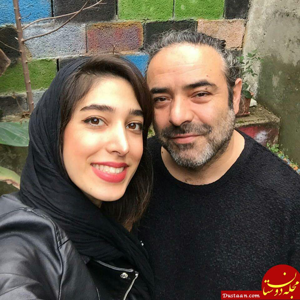 www.dustaan.com بیوگرافی و عکس های دیدنی حسن معجونی و همسرش