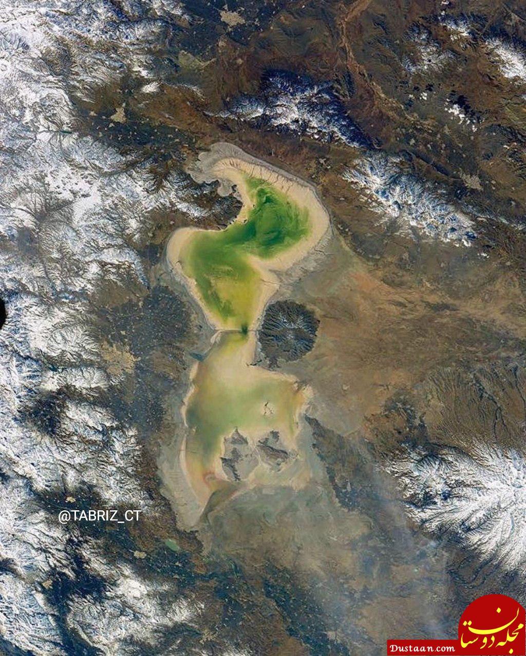 www.dustaan.com وضعیت این روزهای دریاچه ارومیه +عکس