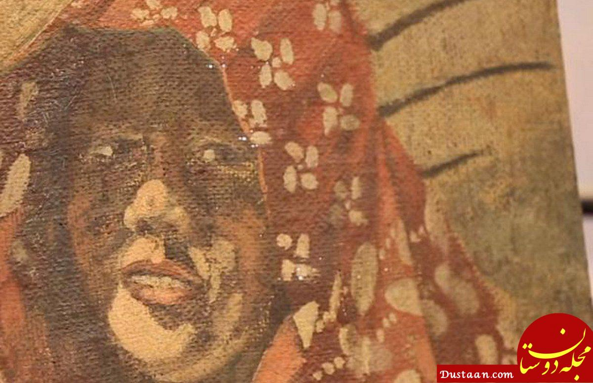 www.dustaan.com حراج نقاشی منسوب به هیتلر از معشوقه فرانسوی اش +عکس