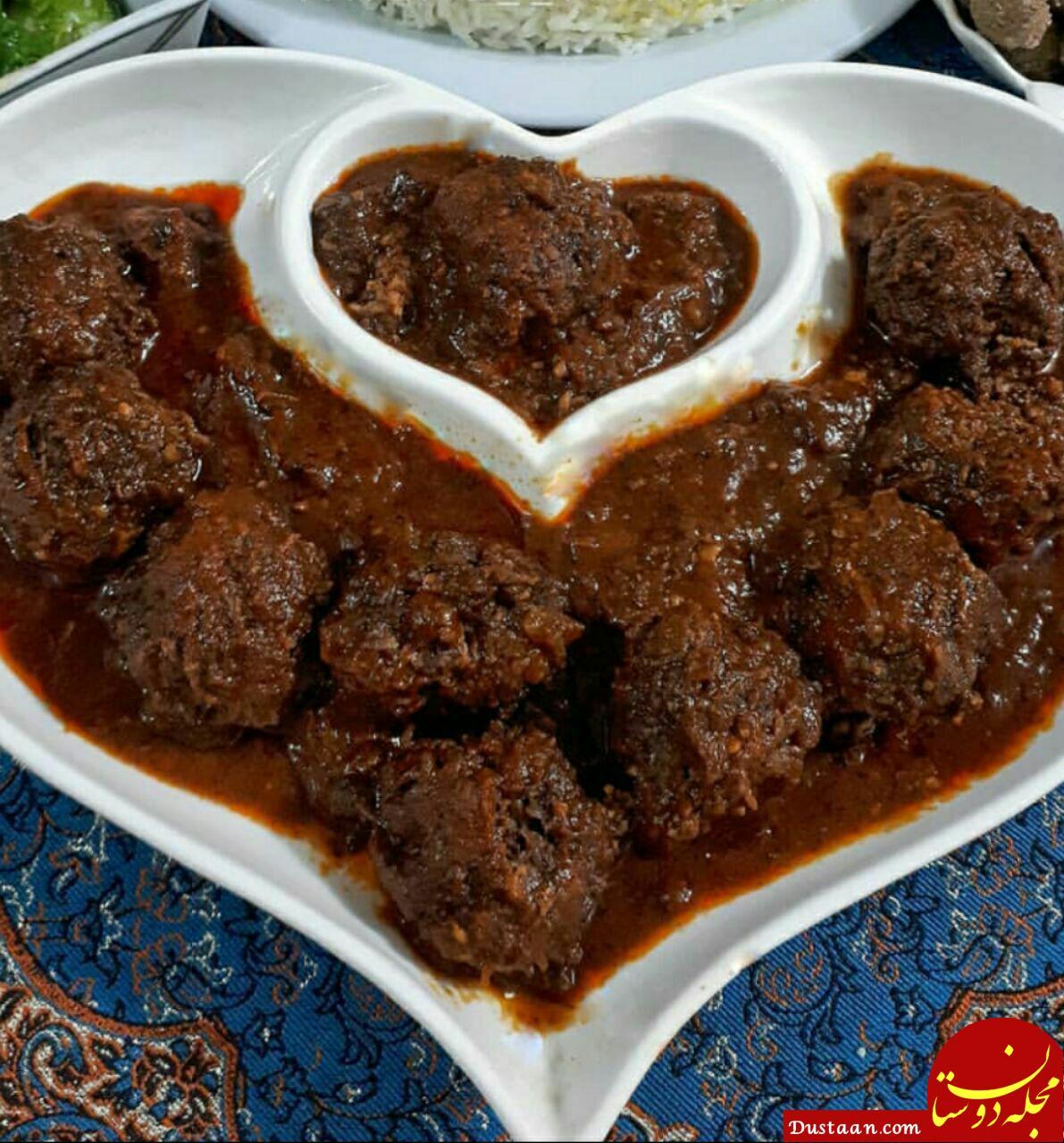 www.dustaan.com طرز تهیه کوفته گردویی به سبکی خوشمزه و سنتی