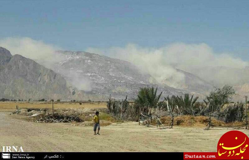 www.dustaan.com ورود به کوه نمک بوشهر ممنوع شد +عکس
