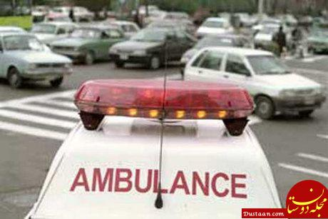 www.dustaan.com جریمه 30 هزارتومانی برای تعقیب کنندگان خودروهای امدادی