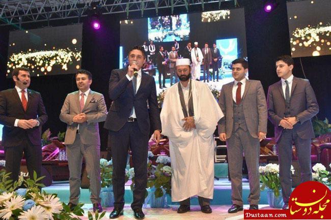 www.dustaan.com سعید طوسی در مراسم شب معراج ترکیه +عکس