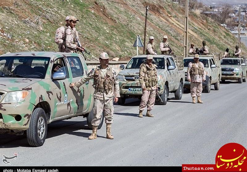 www.dustaan.com جزئیات شهادت ۴ مرزبان و بسیجی در درگیری اخیر با اشرار میرجاوه