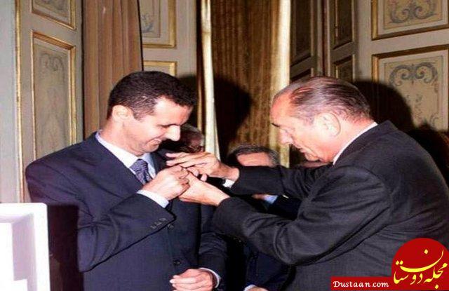 پس گرفتن نشان شوالیه از بشار اسد