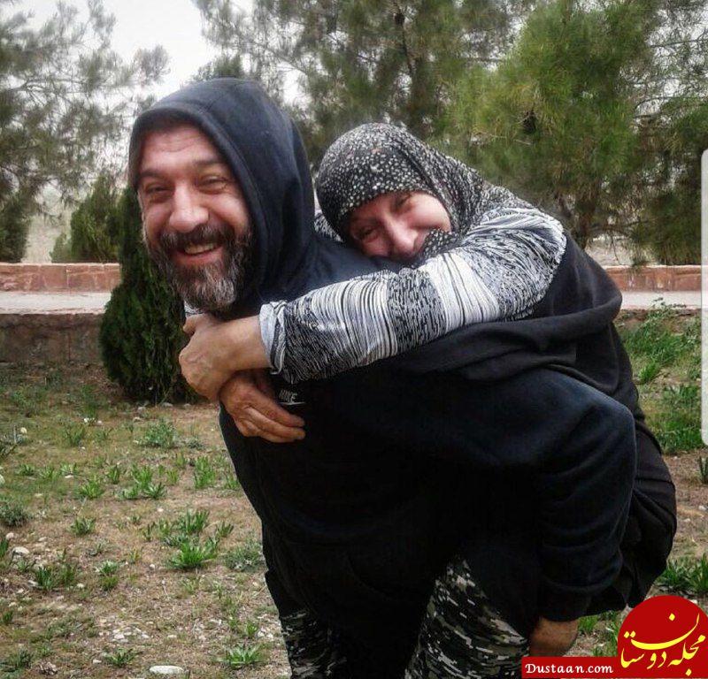 www.dustaan.com محبت به مادر به سبک ستاره سابق پرسپولیس! +عکس