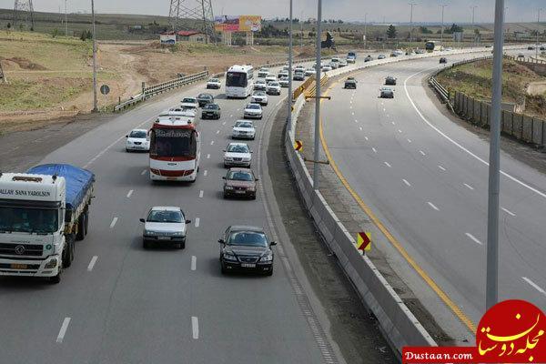 www.dustaan.com ۶ محور کشور تا اطلاع ثانوی مسدود است (چهارشنبه 29 فروردین)