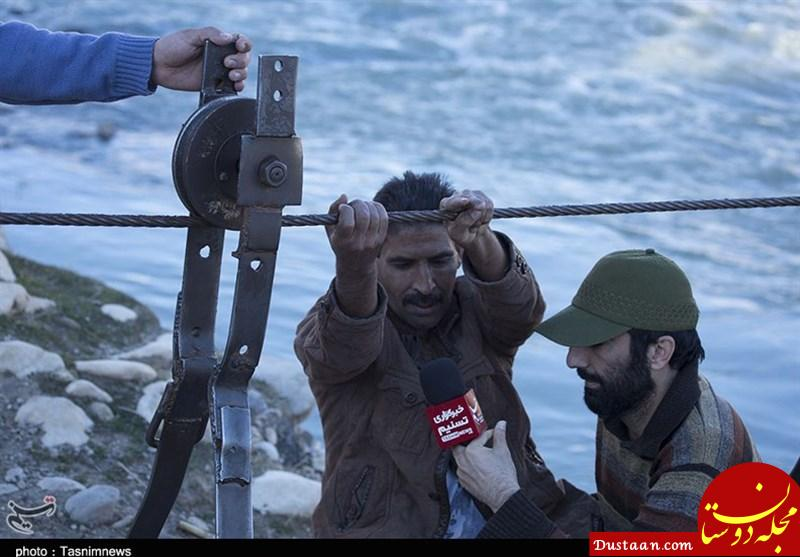 www.dustaan.com قطع انگشت کرایه عبور مردم ابراهیم آباد؛  دستهای بریده به پل میرسد+تصاویر