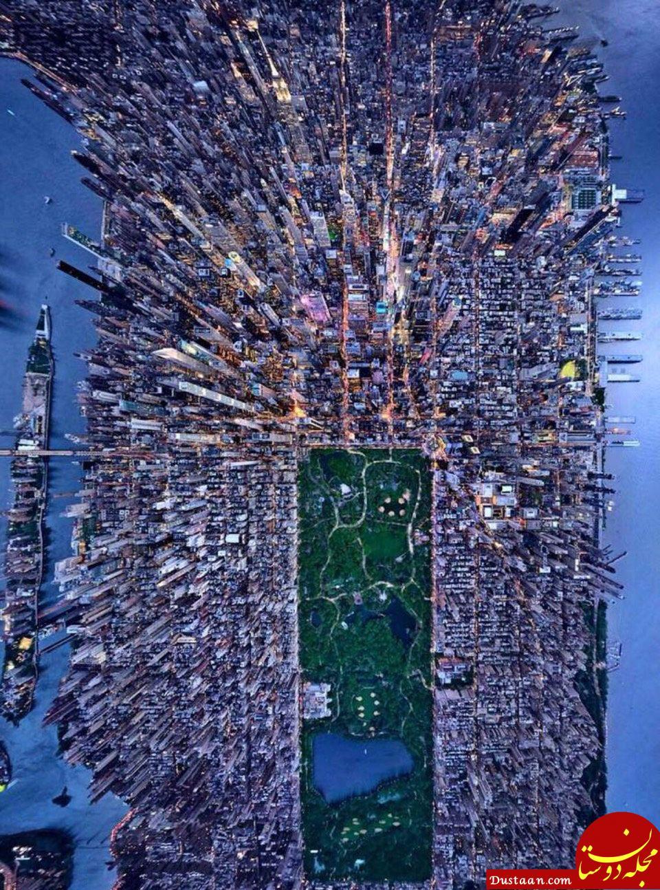 www.dustaan.com نیویورک از نگاه پرندگان! +عکس