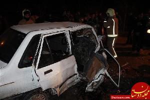 www.dustaan.com تصادف مرگبار سمند و پراید ؛ 7 کشته برجای گذاشت