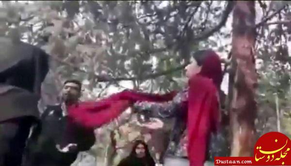www.dustaan.com واکنش کیهان به فیلم برخورد گشت ارشاد با دختر بدحجاب