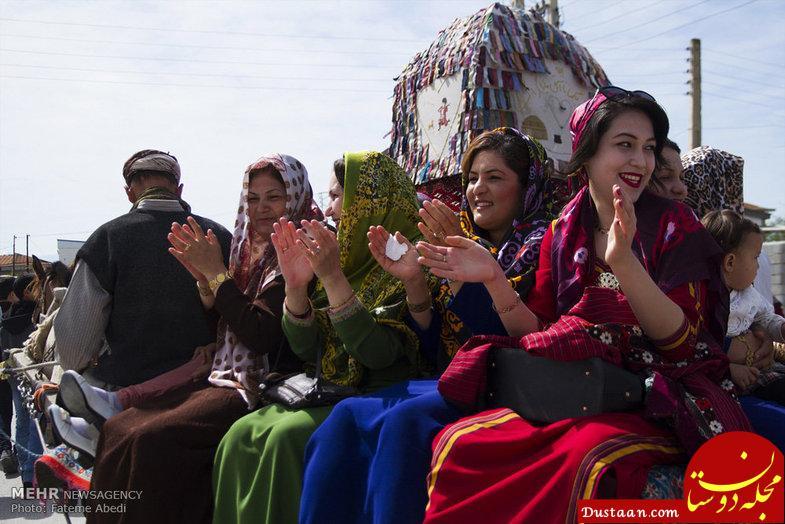 www.dustaan.com تصاویری دیدن از  عروسی ترکمن ها