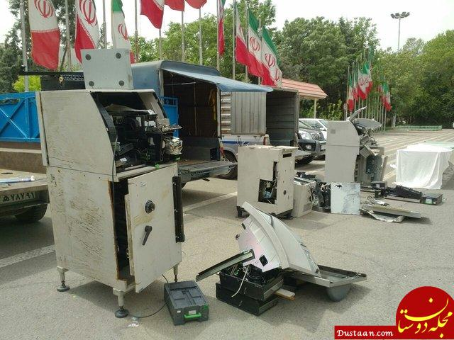 www.dustaan.com سارقان عابربانک ها در تهران دستگیر شدند