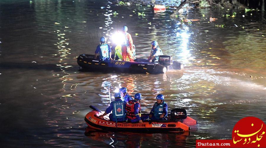 www.dustaan.com برخورد دو قایق در چین 17 کشته برجا گذاشت +عکس