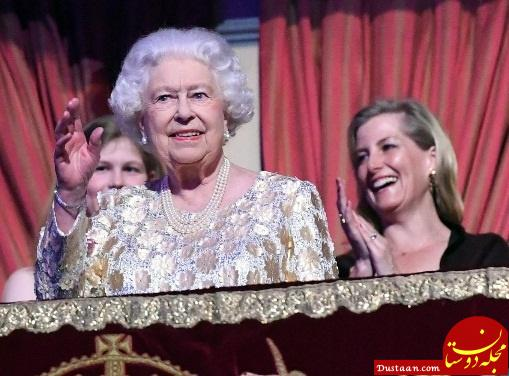www.dustaan.com ملکه الیزابت 92 ساله شد +تصاویر
