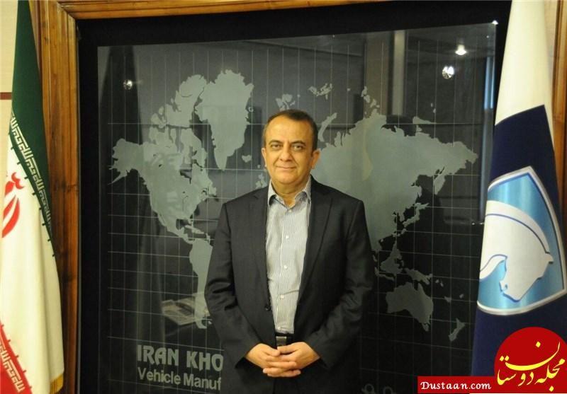 www.dustaan.com خودروی شخصی مدیرعامل ایران خودرو چیست؟