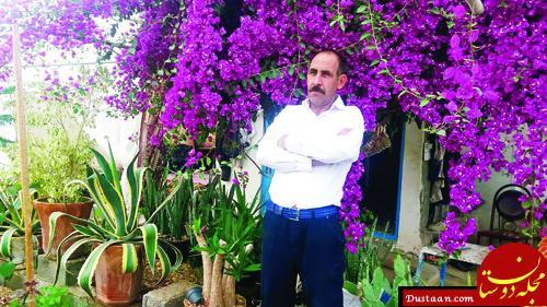 www.dustaan.com این مرد ایرانی عجیب ترین شغل دنیا را دارد! +عکس
