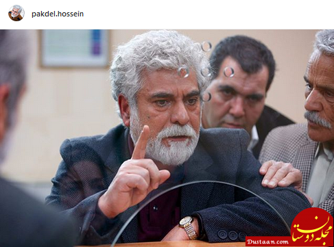 www.dustaan.com گریم دیدنی «حسین پاکدل» در فیلم «آستیگمات» +عکس
